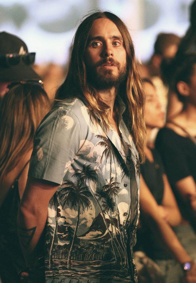 2014 Coachella - Best celebrity outfits  2014 Coachella – Best celebrity outfits 2014 coachella celebrities outfits Jared Leto