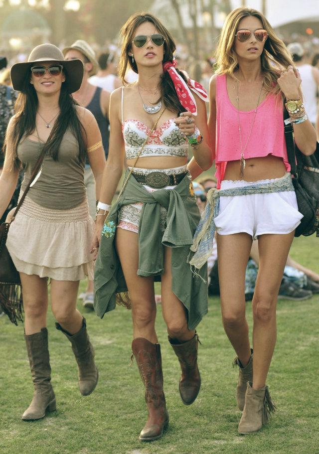 2014 Coachella - Best celebrity outfits  2014 Coachella – Best celebrity outfits 2014 coachella celebrities outfits alessandra ambrosio