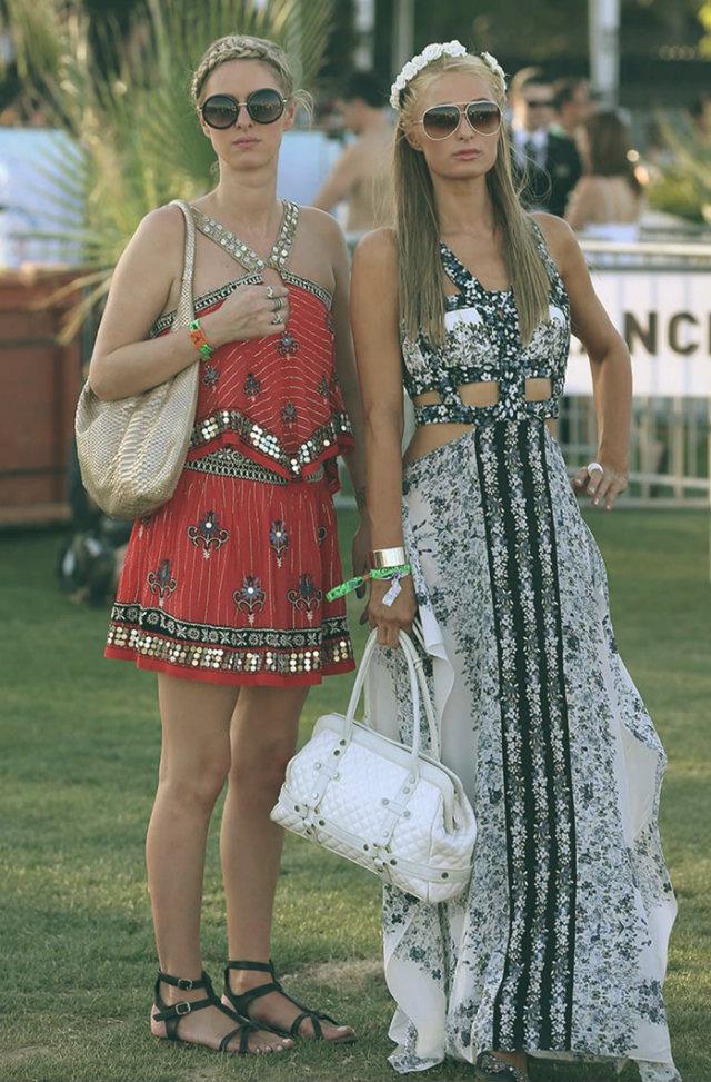 2014 Coachella - Best celebrity outfits  2014 Coachella – Best celebrity outfits 2014 coachella celebrities outfits paris hilton