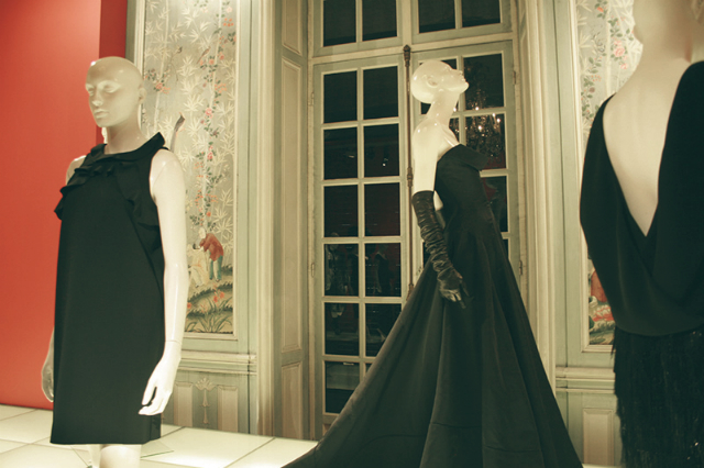 Karl Lagerfeld — the face behind Chanel | The little black dress - MoMA exhibition