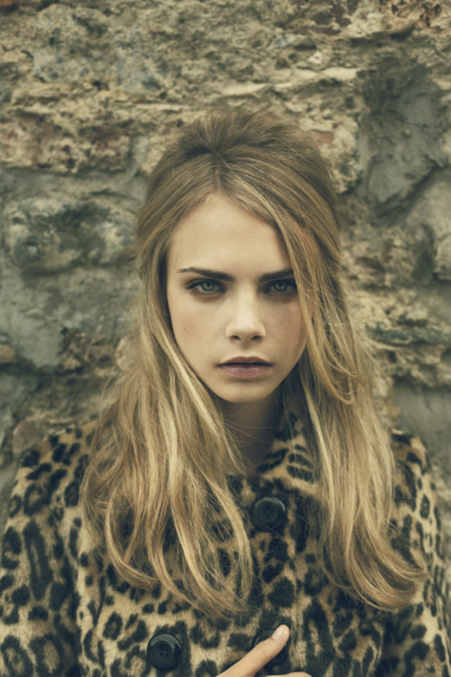 Model of the moment Cara Delevingne the new Kate Moss