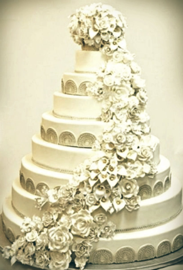 Most expensive celebrity weeding cakes celebrity homes for Most expensive wedding photographer in the world