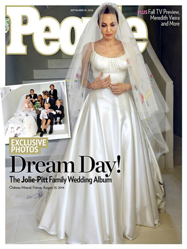 Angelina Jolie and Brad Pitt Weeding Vanity Fair Cver (3)