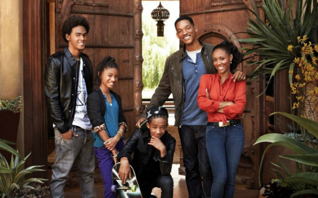 Will-smith-and-family  Inside Celebrity Homes – Will Smith Will smith and family