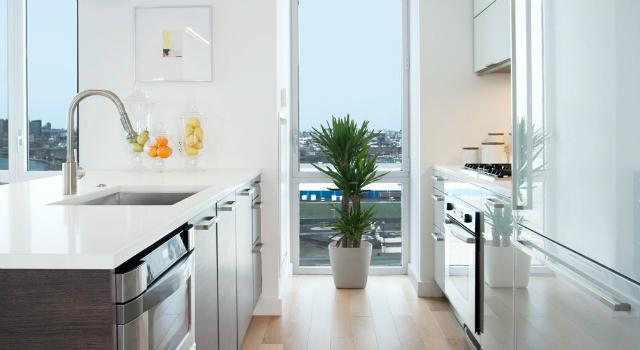 ed westwick kitchen celebrity home ed westwick Celebrity Homes: Inside Ed Westwick Brooklyn Apartment ed westick kitchen