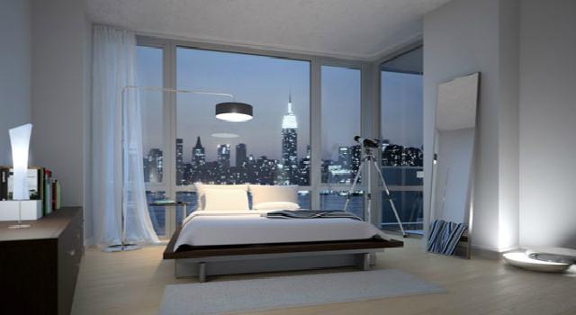bedroom celebrity home ed westwick  ed westwick Celebrity Homes: Inside Ed Westwick Brooklyn Apartment edge bedroom