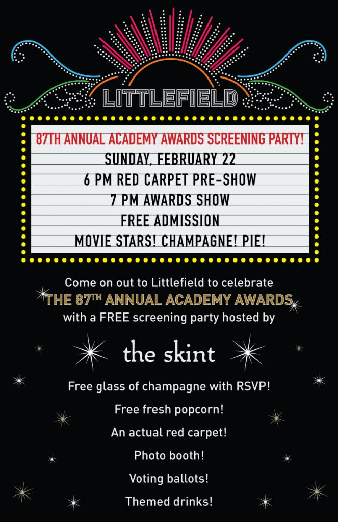 2-oscar parties-theskint_OscarsPoster_FinalWEB-3  The best Oscar Parties 2015 2 oscar parties theskint OscarsPoster FinalWEB 3