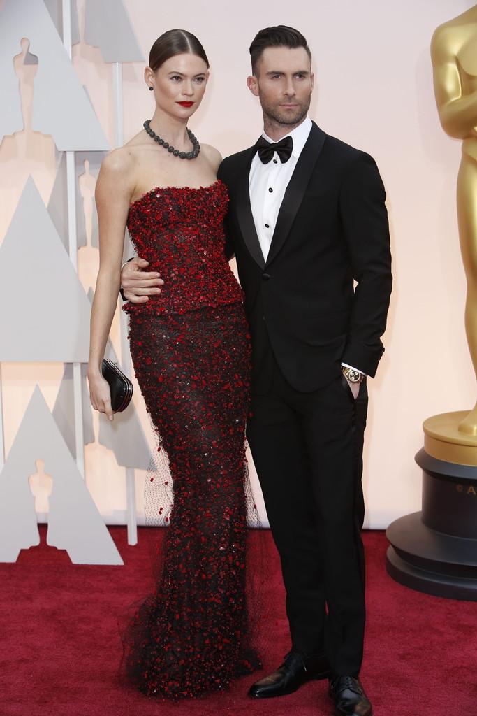celebrity couples-holywood oscars 2015  Oscars 2015: Celebrity Couples celebrity couples holywood oscars 2015