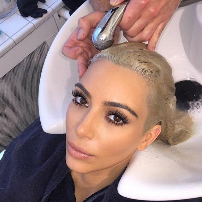 Celebrity Gossip Kim Kardashian is no longer a blonde girl (3)  Celebrity Gossip: Kim Kardashian is no longer a blonde girl Celebrity Gossip Kim Kardashian is no longer a blonde girl 4