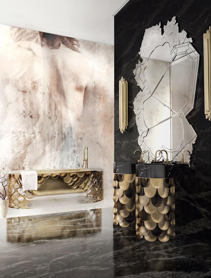 Celebrity Homes: Top 5 celebrity bathrooms  Celebrity Homes: Top 5 celebrity bathrooms koi bathtubs maison valentina